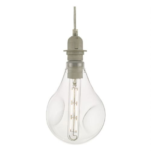 Clear Organic Glass LED Dimmable Pendant Kit ACDL6